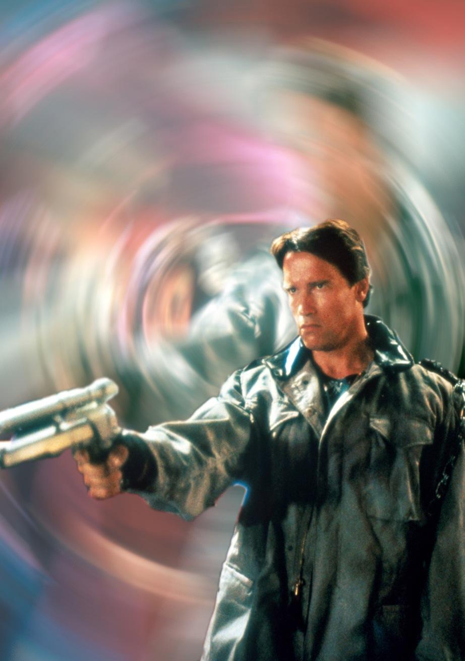 Arnold Schwarzenegger: T-800 jest wewnątrz maszyną, ale na zewnątrz ma ludzkie ciało, dlatego starzeje się jak człowiek