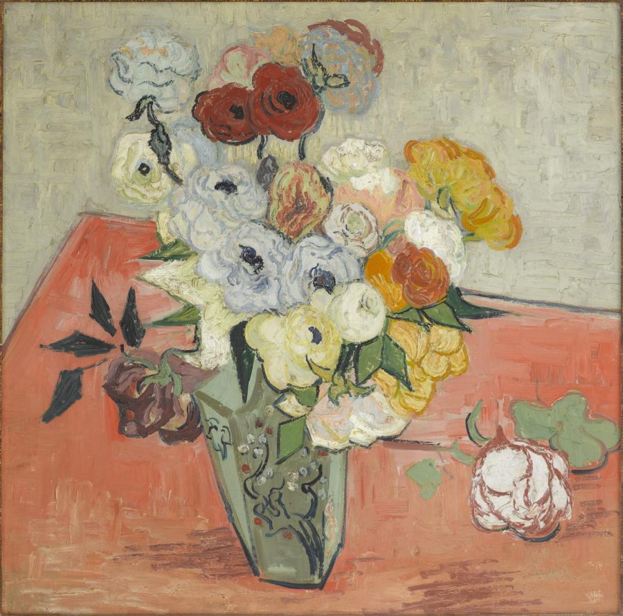 Roses et Anemones (1890)