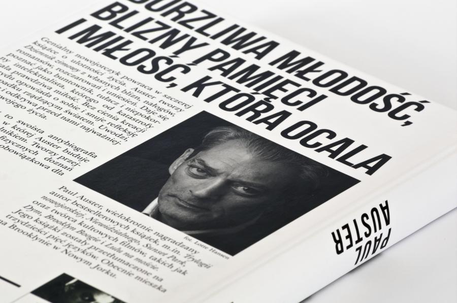 Paul Auster; Fot.Wojciech Karlinski