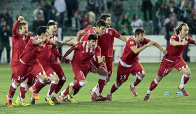 Radość piłkarzy Sevilli