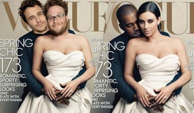 James Franco i Seth Rogen nabijąją sięz Kanye Westa i Kim Kardashian