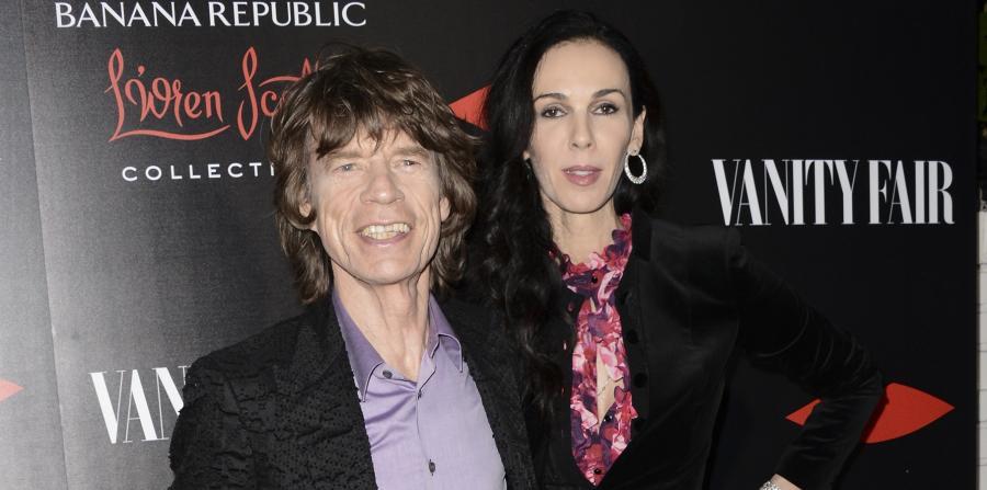 L\'Wren Scott i Mick Jagger