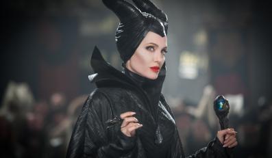 "Angelina Jolie jako ""Czarownica"""