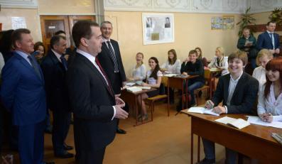 Dmitrij Miedwiediew na Krymie