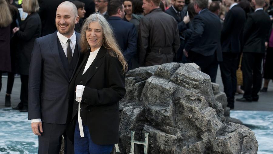Darren Aronofsky z Patti Smith na premierze \
