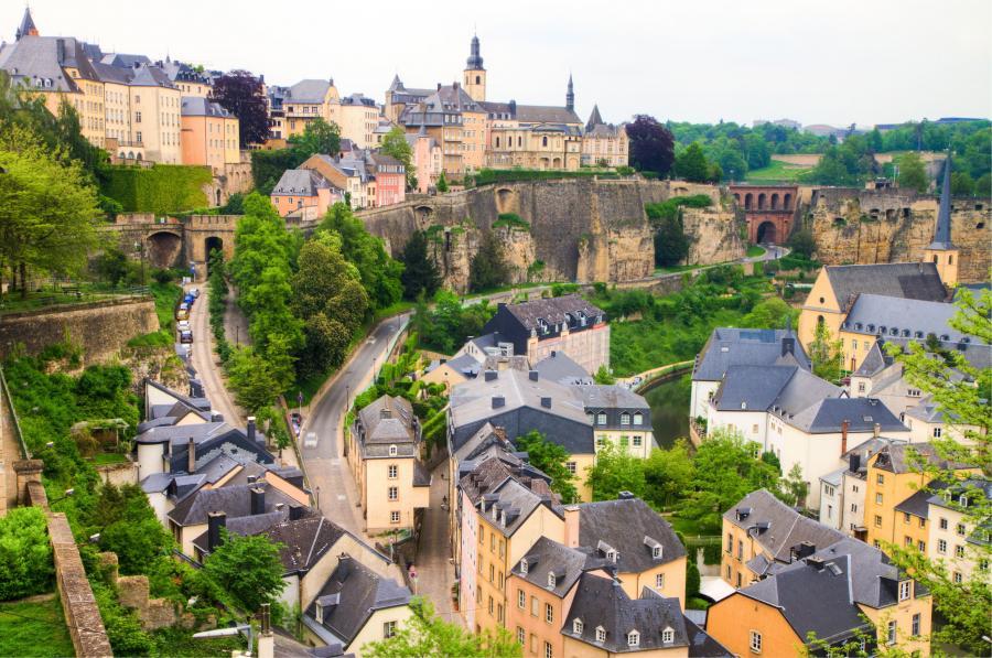 Miejsce 10 - Luksemburg