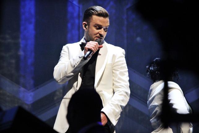 Justin Timberlake nie dał szansy konkurentom...