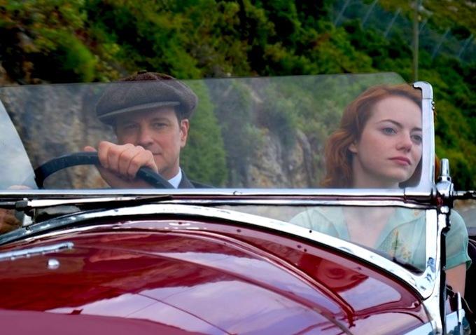 Colin Firth i Emma Stone w filmie \