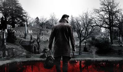 "Liam Neeson na plakacie ""A Walk Among the Tombstones"""