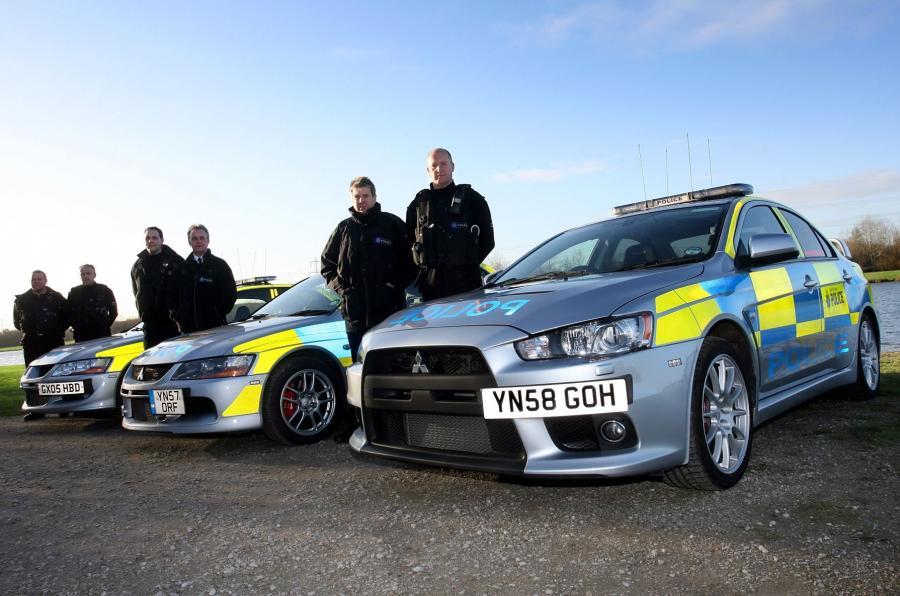 Policja z Wielkiej Brytanii
