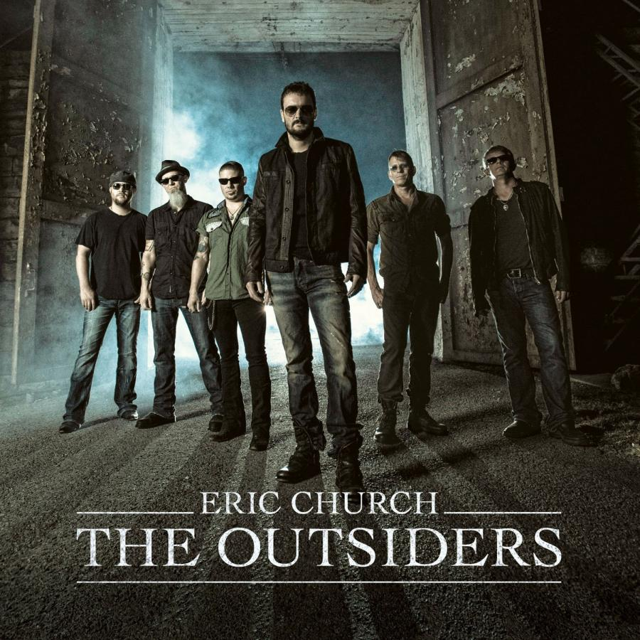 "3. Eric Church – ""The Outsiders"""