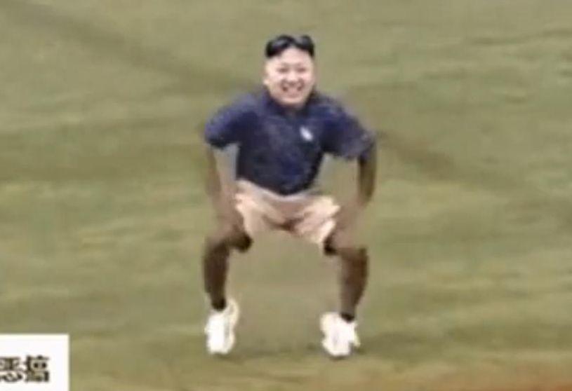 Sklejka z Kim Dzong Unem, która rozsierdziła Koreę Północną