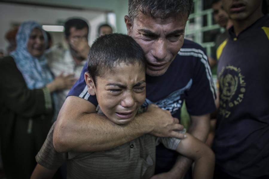 Atak na szkołę ONZ w Strefie Gazy