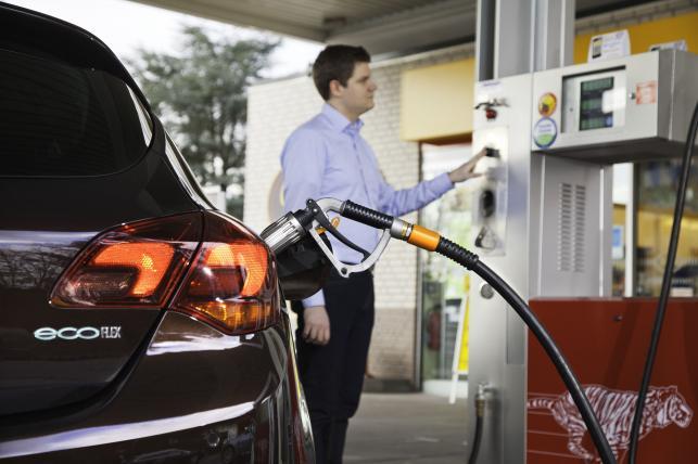 Opel astra z instalacją LPG