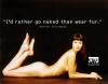 W kampanię zaangażowała się znana modelka Christy Turlington