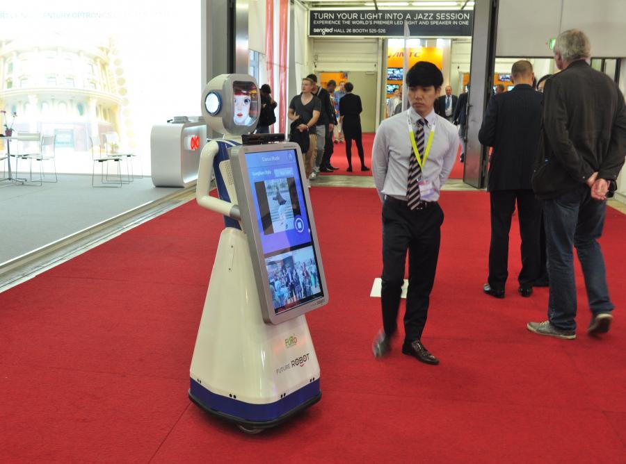Tańczący robot