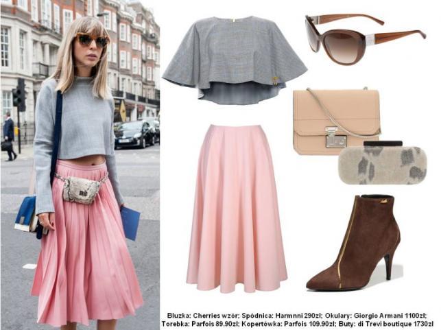 Street style na tygodniach mody - INSPIRACJE