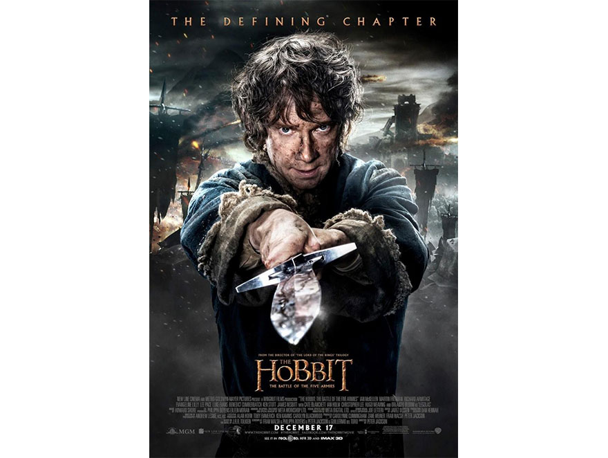 """Hobbit: Bitwa pięciu armii"" –nowy plakat"
