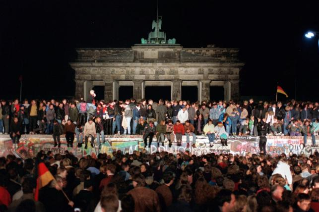 25. rocznica zburzenia muru berlińskiego
