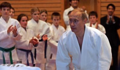 Prezydent Rosji Władimir Putin jest również mistrzem judo