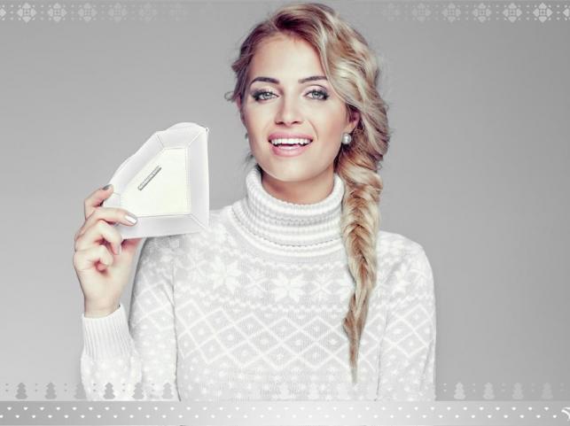 Rozalia Mancewicz w świątecznej kampanii Sabriny Pilewicz