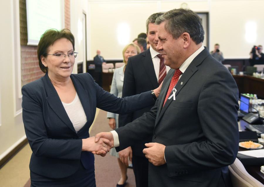 Ewa Kopacz i Janusz Piechociński