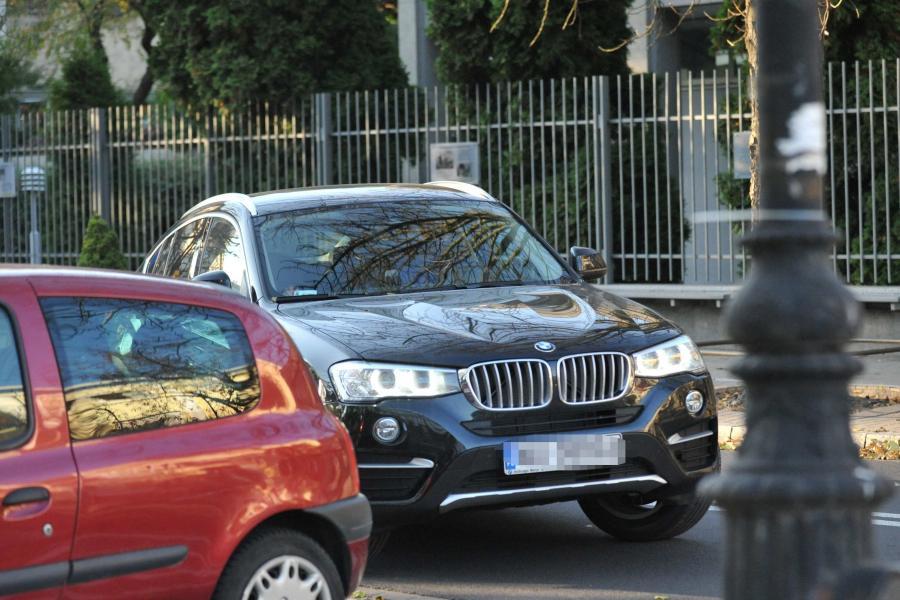 Kazimierz Marcinkiewicz za kierownicą BMW X4