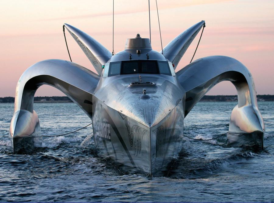 Ekologiczna łódź ma pobić rekord prędkości w okrążeniu globu