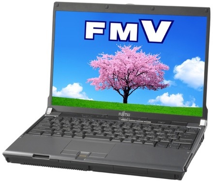 LOOX R, pierwszy ultra-lekki laptop z penrynem od Fujitsu