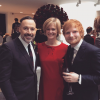 David Furnish i goście: Lady Dundas oraz Ed Sheeran