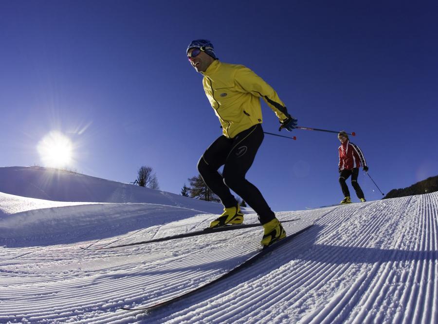 To raj dla amatorów narciarskich biegów