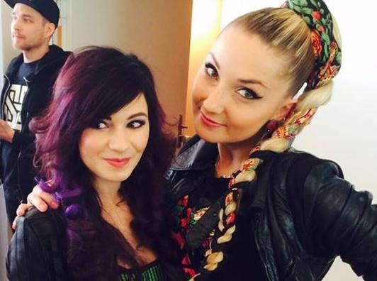 Ewelina Lisowska i Cleo
