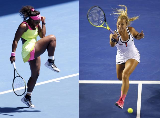 Australian Open: Piękna przegrała z bestią. Serena Williams lepsza od Dominiki Cibulkovej