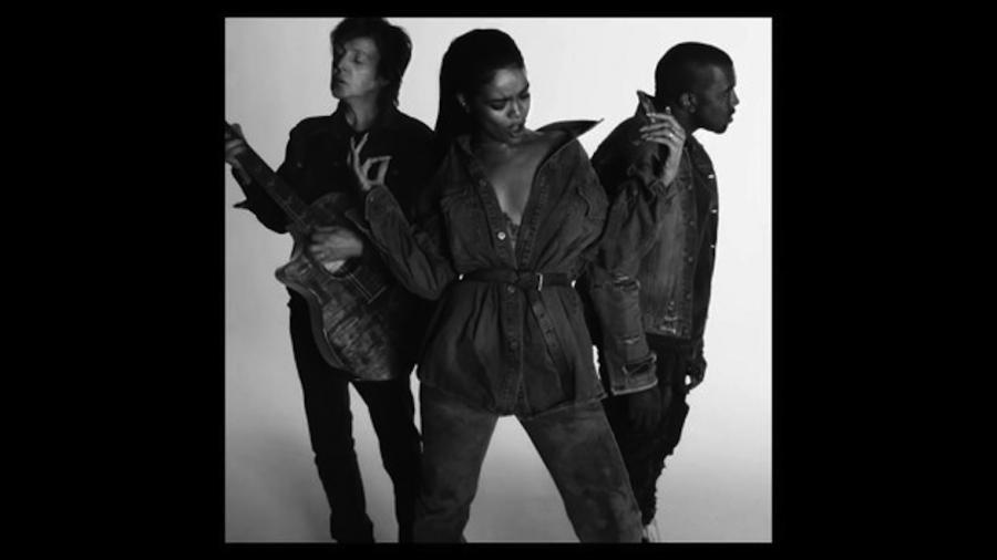 Rihanna, Kanye West i Paul McCartney w klipie do \