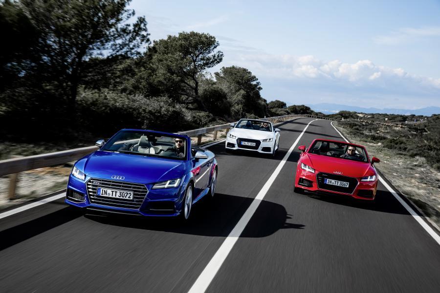Audi TTS Roadster i TT Roadster