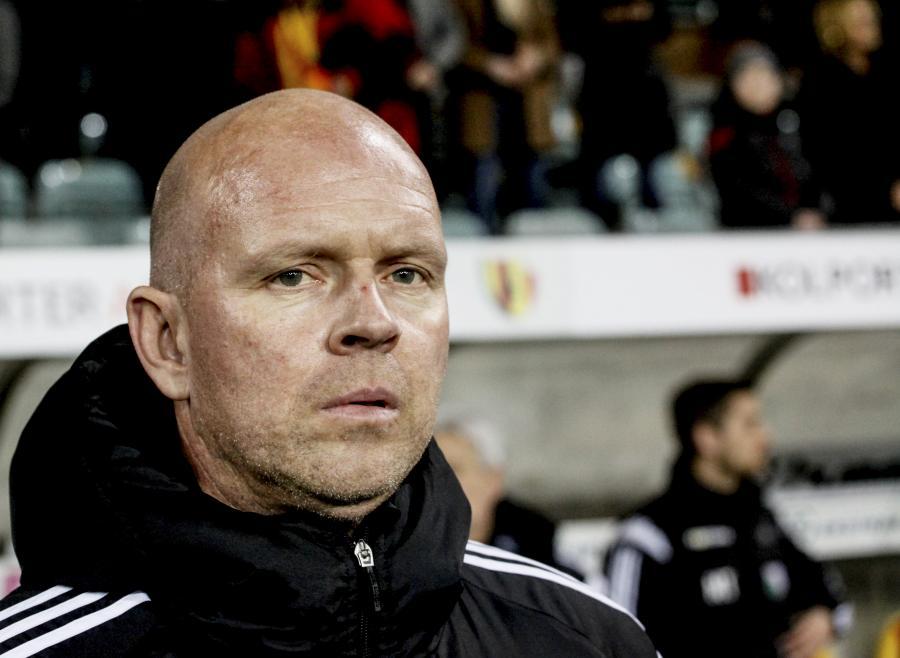 Trener Legii Warszawa Henning Berg