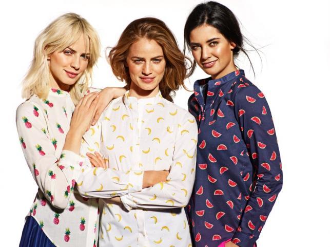 Koszule damskie z kolekcji Wólczanka wiosna/lato 2015