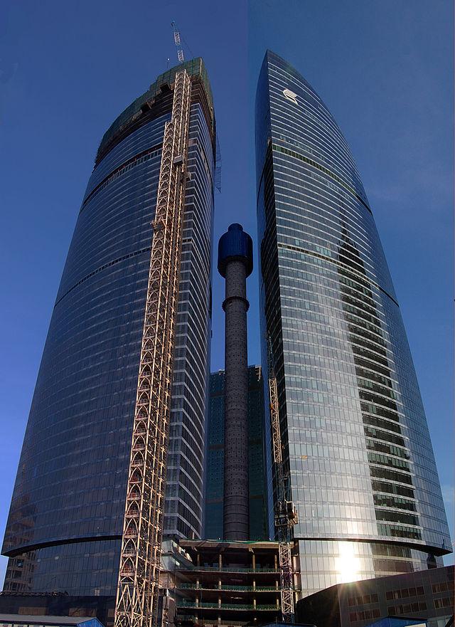 Wieża Federacji w Moskwie