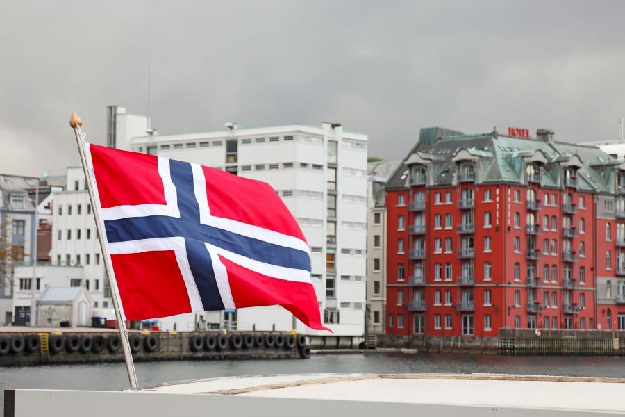 Wybrzeże Bergen, Norwegia