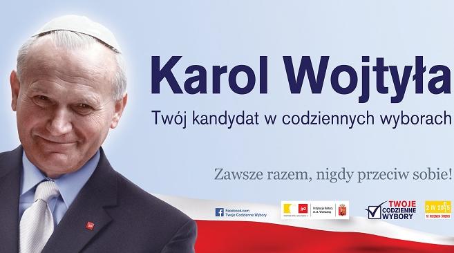 Jp Ii Na Plakatach Kontrowersyjna Kampania Wyborcza