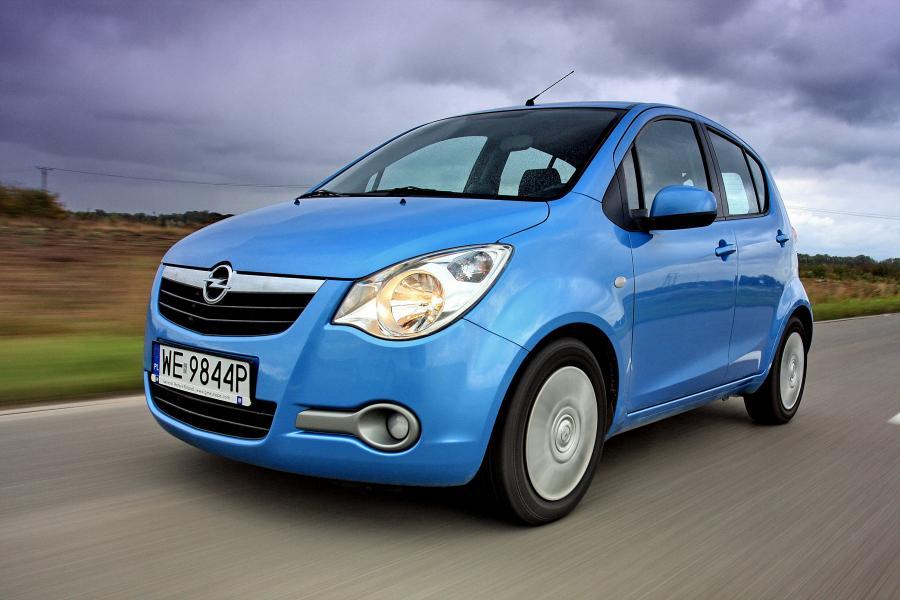 Opel agila - 1. miejsce w rankingu najmniej awaryjnych używanych samochodów według Warranty Direct