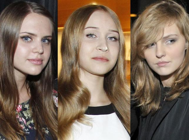 Roksana Trojanowska, Nadia Kurzelewska, Wiktoria Grzelak