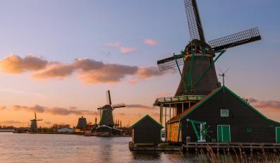 Wiatrak, Holandia