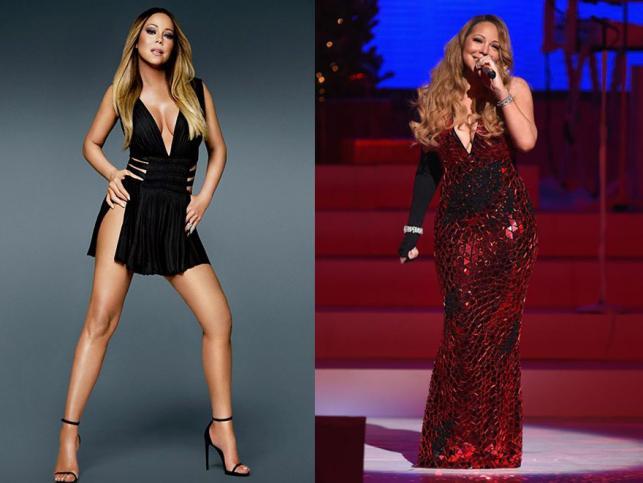 Mariah Carey z okładki i ta prawdziwa