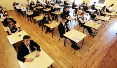 Egzamin gimnazjalny w gimnazium nr III przy ulicy Szkolnej w Gorzowie Wielkopolskim