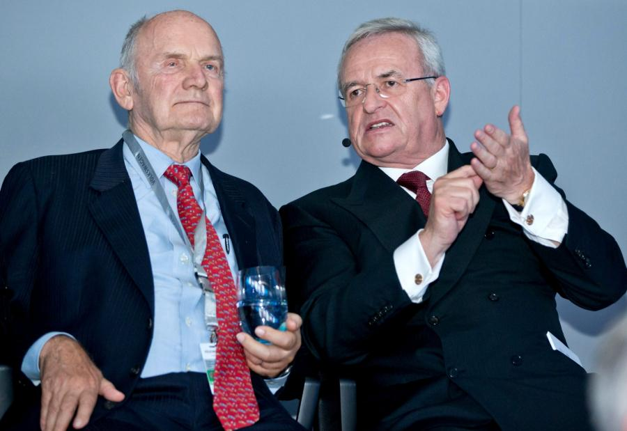Ferdinand Piech i Martin Winterkorn