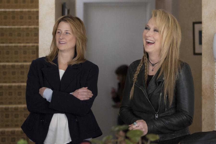 Meryl Streep i jej córka Mamie Gummer w filmie \