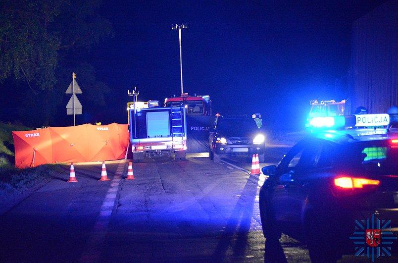 Policjanci CBŚ zginęli w wypadku na S8
