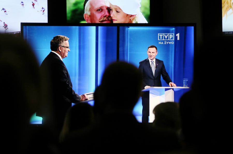 Debata Andrzeja Dudy i Bronisława Komorowskiego
