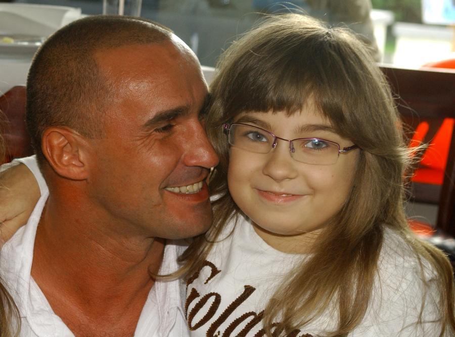 Mała Nicole jest dumna ze swojego ojca